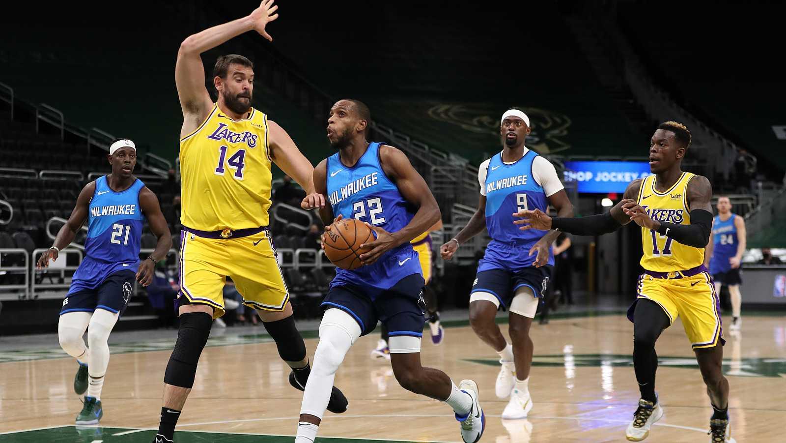 Los Lakers tumban a los Bucks de Antetokounmpo