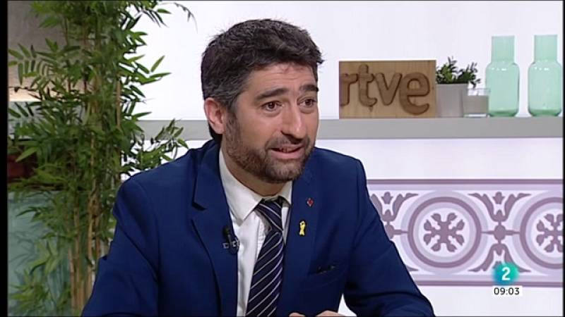 Jordi Puigneró, conseller de Polítiques Digitals i Administració Pública