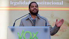"""Garriga (Vox): """"Irrumpiremos con mucha fuerza en el Parlamento catalán para recuperarlo de la mafia separatista"""""""
