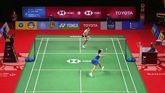 "Bádminton - HSBC BWF World Tour Super 1000 ""Toyota Thailand Open"". 1/4 Final: C. Marín - N. Yigit"