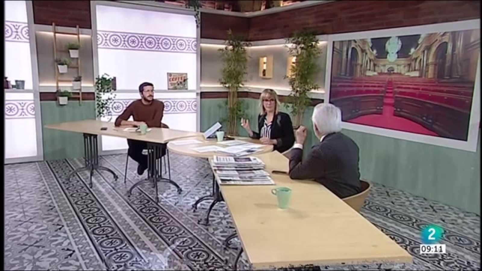 Jordi Puigneró, el 14F i 'Encara hi ha algú al bosc'
