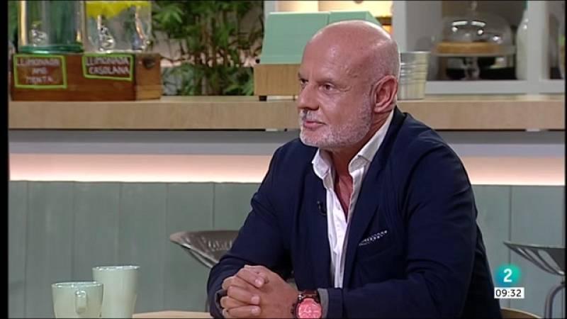 Gemma Nierga entrevista Alfonso García, propietari del restaurant Casa Alfonso