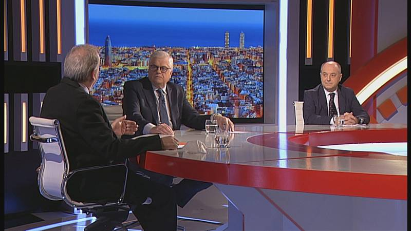 Lluís Falgàs entrevista els economistes Xavier Ferrer i Anton Gasol