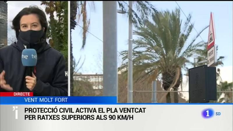 El 112 ha rebut 311 trucades relacionades amb incidències, 89 a Barcelona