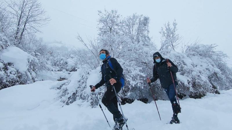 Los Picos de Europa en invierno