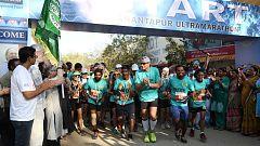 La Ultramaratón de Anantapur se adapta a los tiempos de la COVID-19