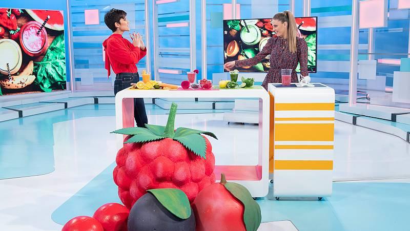 Propuestas de batidos saludables y bizcocho de mango