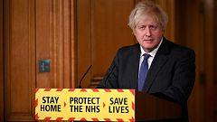 Johnson apunta que la variante británica de la COVID-19 es más mortífera