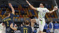 Balonmano - Campeonato del Mundo masculino. 2ª fase: Eslovenia - Suecia