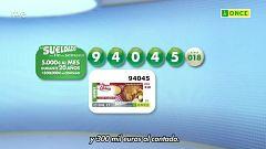 Sorteo ONCE - 23/01/21