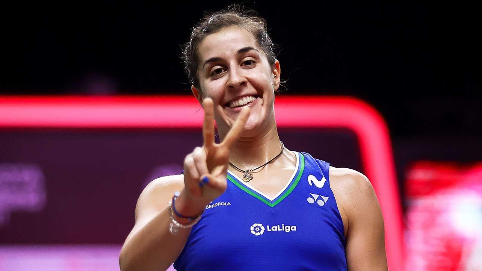 """Carolina Marín: """"Esta medalla es de todo mi equipo"""""""