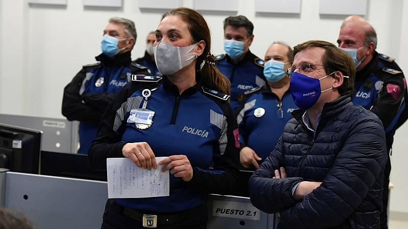 Madrid vigilará con drones el cumplimiento de las restricciones y abrirá un tercer pabellón del Hospital Isabel Zendal