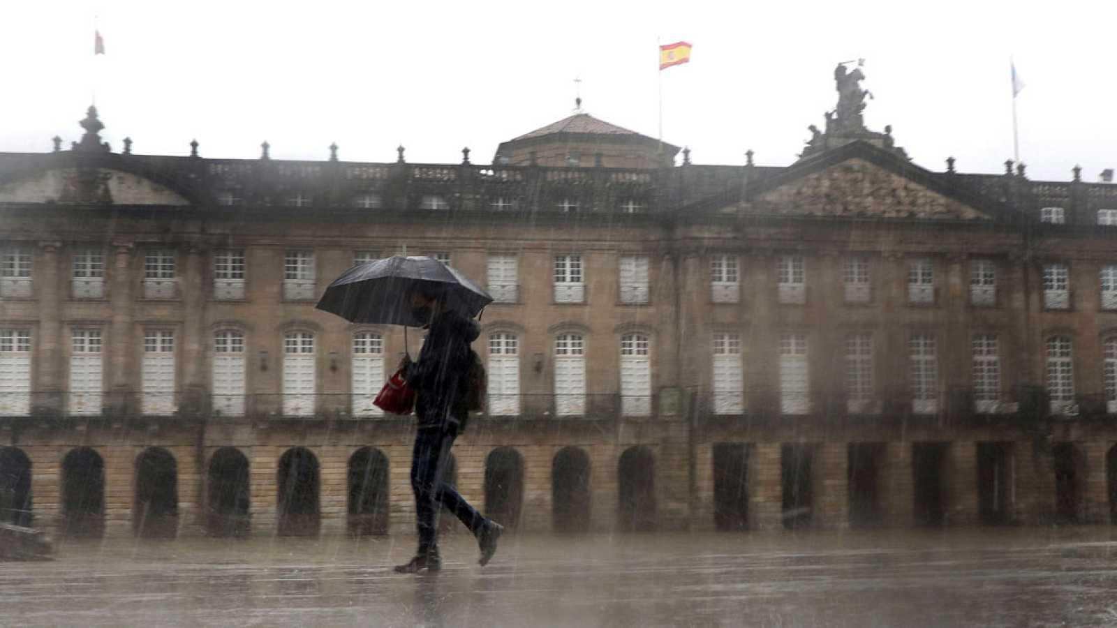La entrada por Galicia de un nuevo frente atlántico dejará lluvias en el noroeste peninsular