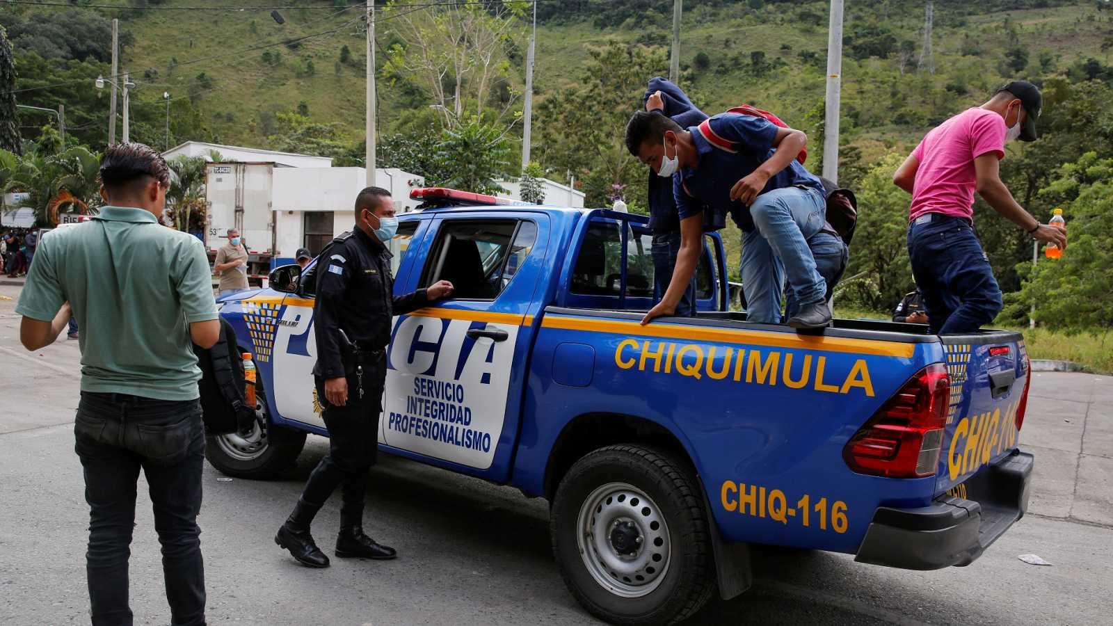 Guatemala militariza el control migratorio