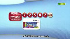Sorteo ONCE - 24/01/21