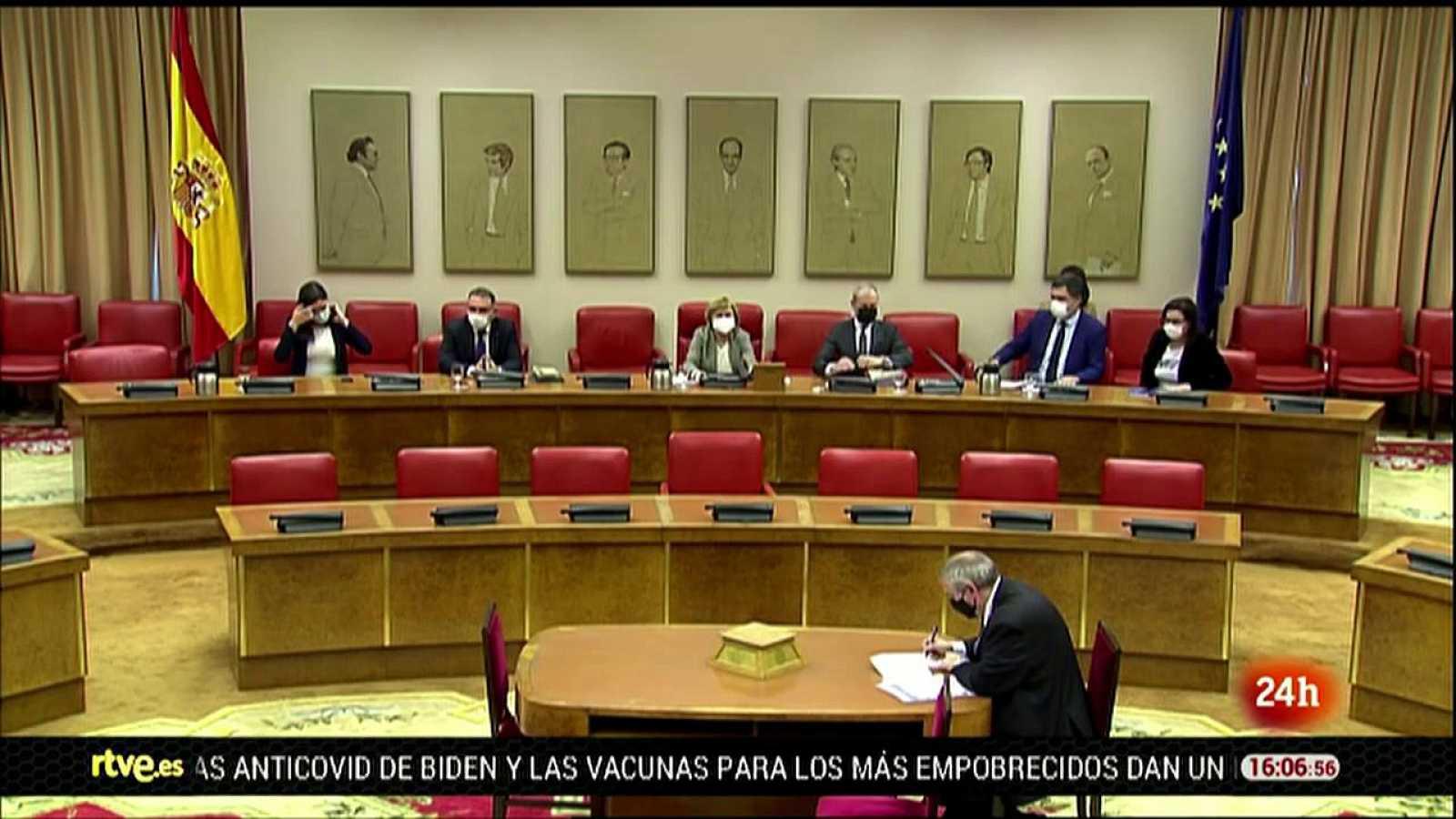 Parlamento - El foco parlamentario - Plan de trabajo de la comisión 'Kitchen' - 23/01/2021