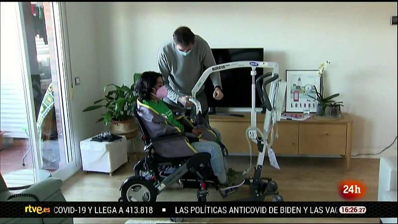 Parlamento - El reportaje - Vivir con ELA - 23/01/2021
