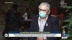 Nieves Cabo, primera persona inmune contra el coronavirus