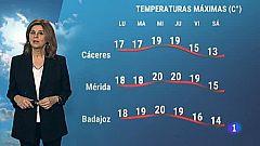 El tiempo en Extremadura - 25/01/2021