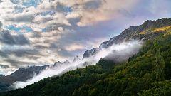 Intervalos de viento fuerte en Pirineos, Baleares, interior sudeste peninsular y litoral de Alborán