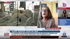 """María José Méndez, enfermera del hospital Can Misses de Ibiza: """"La situación es trágica"""""""