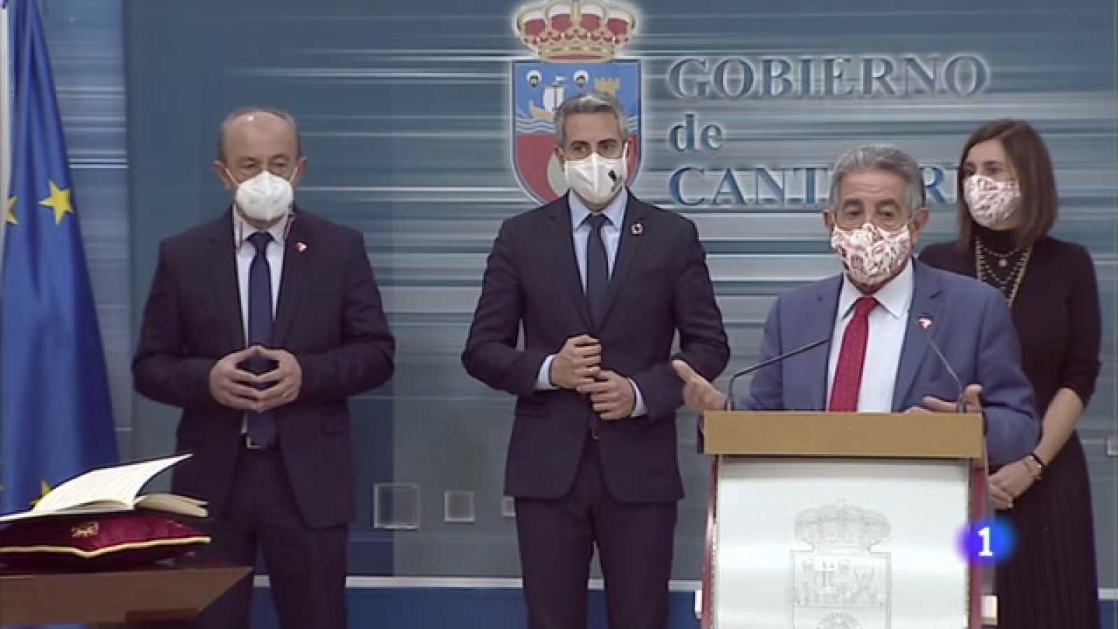 El presidente ha confirmado el confinamiento de cuatro municpios cántabros