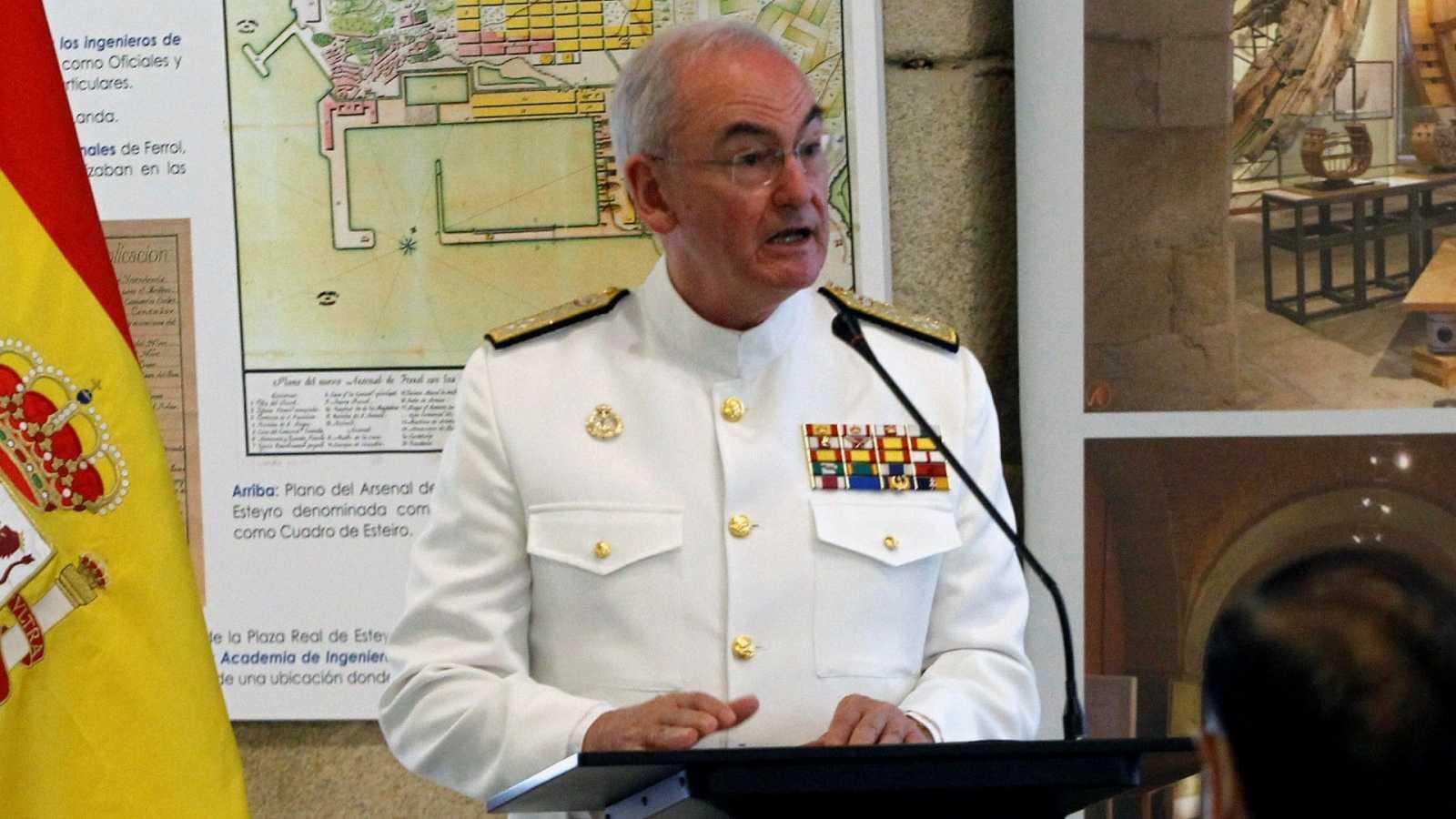 El Gobierno nombra nuevo JEMAD al jefe de la Armada, el almirante Teodoro López Calderón