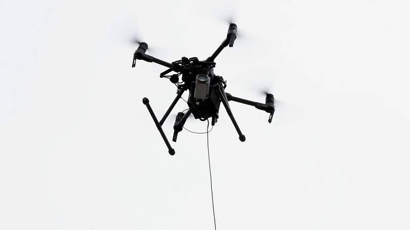 Los drones, el mejor aliado de la policía local de Madrid para controlar las zonas confinadas