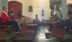 Los ritos eclesiásticos se adaptan a la pandemia