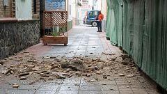 """Un enjambre sísmico causa daños materiales y alerta a la población de Granada: """"Estamos muy asustados"""""""
