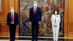 Darias e Iceta prometen sus cargos ante Felipe VI en la Zarzuela