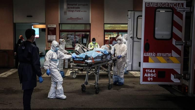 Los hospitales portugueses, al borde del colapso