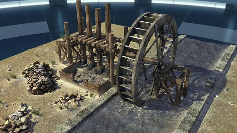 Ingeniería romana - Minería - ver ahora