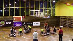 Baloncesto en silla de ruedas - Liga BSR División de honor. Resumen Jornada 10