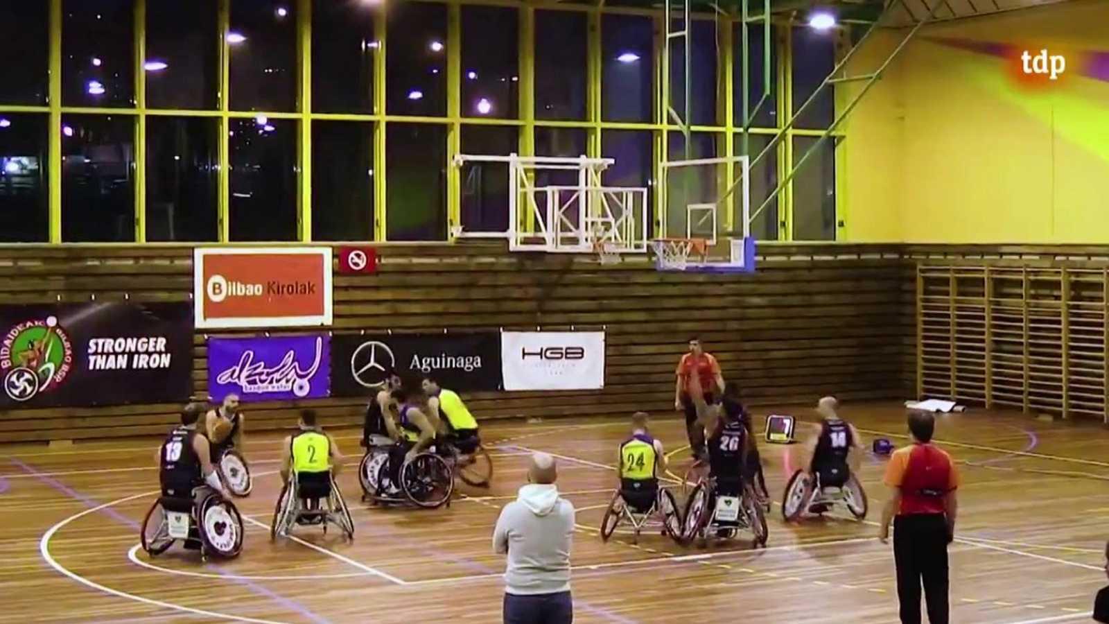 Baloncesto en silla de ruedas - Liga BSR División de honor. Resumen Jornada 10 - ver ahora