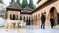 Los terremotos de Granada provocan fisuras en la Alhambra