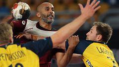 Balonmano - Campeonato del Mundo masculino: 1/4 Final: Suecia - Qatar