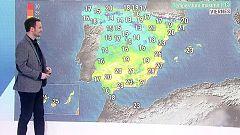 Precipitaciones fuertes en Galicia, nieblas extensas en las mesetas y temperaturas sin cambios