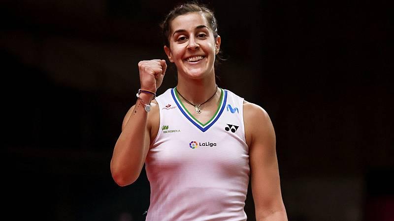 Carolina Marín derrota a Chochuwong y jugará su tercera final