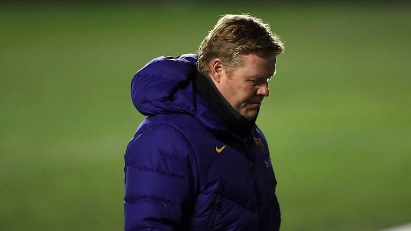 """Koeman: """"Hoy en día el Barça no está para ganar muchas cosas"""""""
