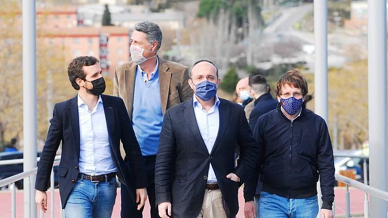 Los candidatos llaman a la movilización en el primer domingo de campaña en Cataluña
