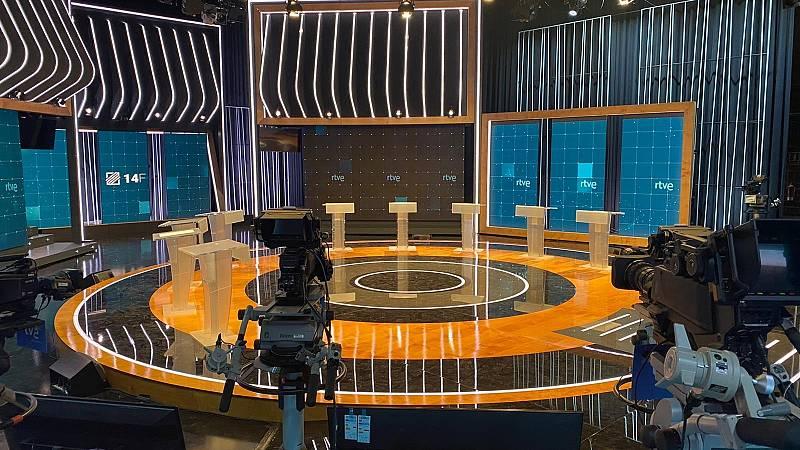 Cronometradores profesionales controlarán el tiempo en el debate de las catalanas en RTVE