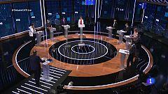Debat Eleccions 14-F - L'encaix de Catalunya a Espanya, tercer bloc del debat electoral