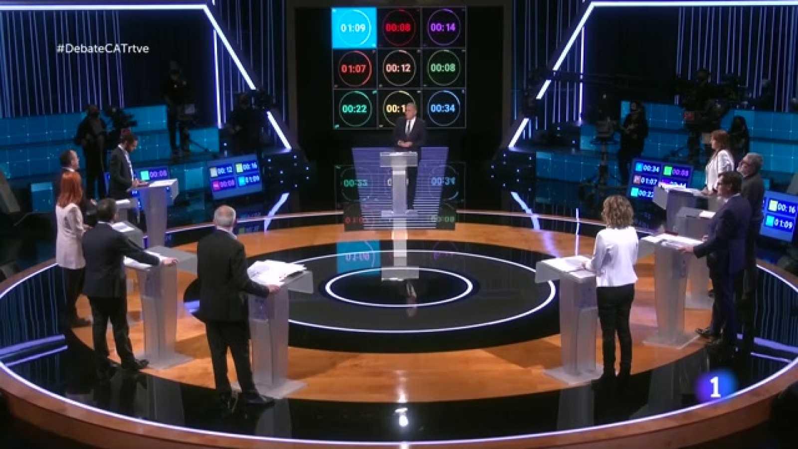Debat Eleccions 14-F - Els pactes postelectorals al quart bloc del debat