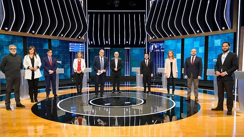 Especial informativo - Elecciones en Cataluña: Debate a nueve candidatos -  ver ahora