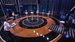 Els nou candidats s'enfronten en el debat de RTVE