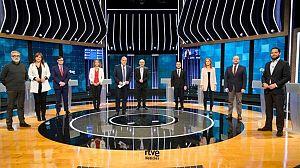 El minut d'or dels candidats