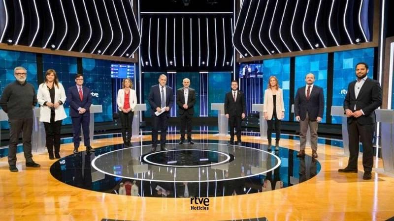 Debat Eleccions 14-F - El minut d'or dels candidats