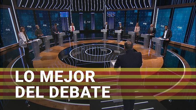 Los mejores momentos del debate a nueve en RTVE