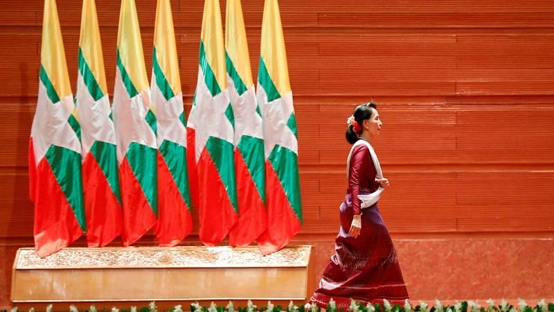 El Ejército toma el poder en Birmania tras detener a la líder del partido gobernante y Nobel de la Paz Aung San Suu Kyi